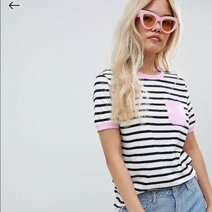 ASOS striped tee